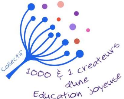 logo 1000 & 1 créateurs d'une Education joyeuse